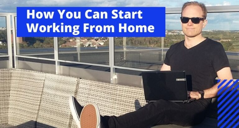 Working from home online